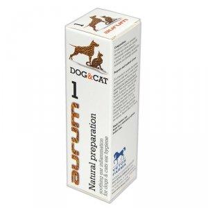 AURUM 1 - Naturalny preparat łagodzący stan zapalny ucha psów i kotów 30ml