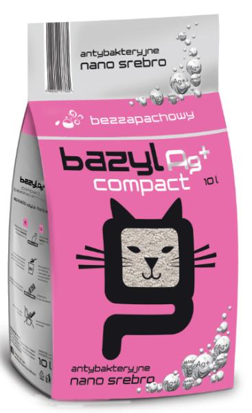 BAZYL Ag+ COMPACT BEZZAPACHOWY 5L