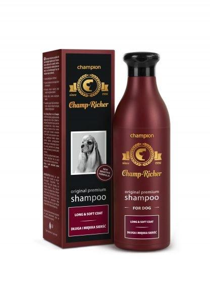 CHAMP-RICHER (CHAMPION) szampon długa i miękka sierść 250 ml