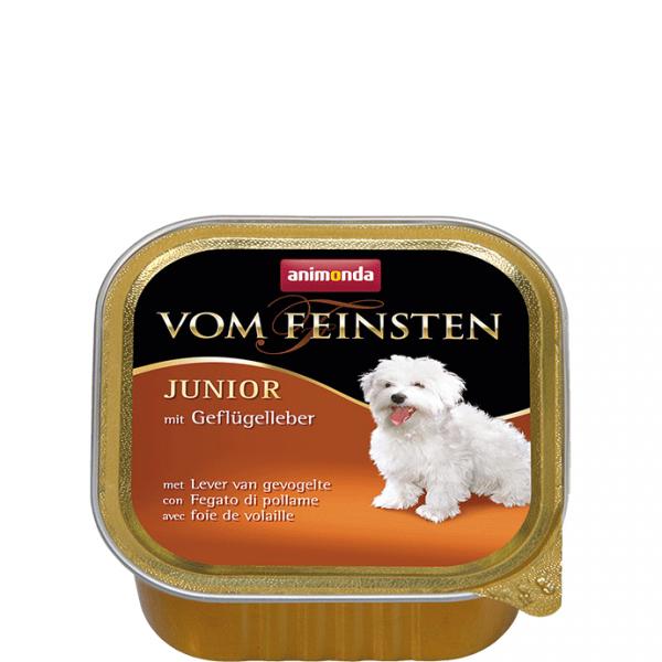 ANIMONDA Vom Feinsten Junior szalki z wątróbką drobiową 150 g
