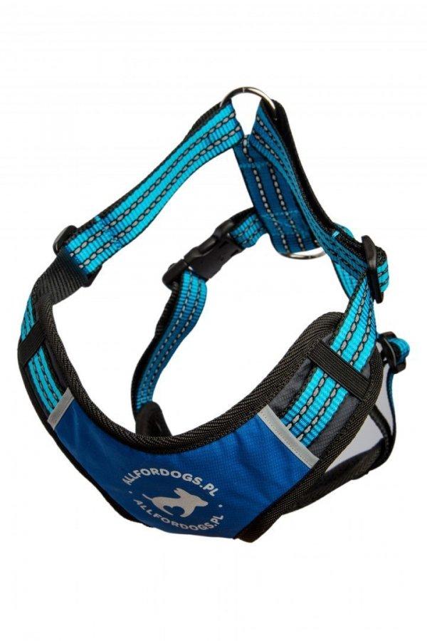 ALL FOR DOGS Sportowe Szelki Niebieskie M