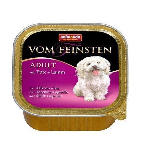 ANIMONDA Vom Feinsten Adult szalki z indykiem i jagnięciną 150 g