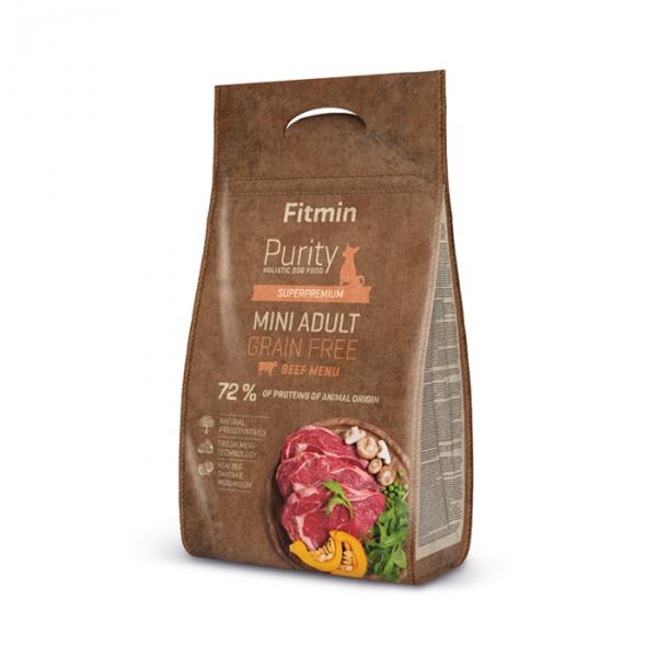 FITMIN dog Purity GF Adult Mini Beef 4kg