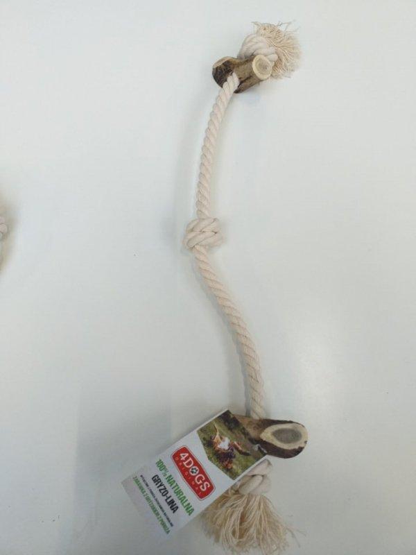 4DOGS SZARPAK GRYZOLINA STRING DOUBLE XXL MIX 50 cm