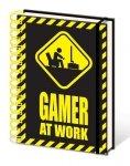 Gamer At Work - notes A5