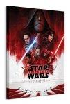 Star Wars The Last Jedi - obraz na płótnie