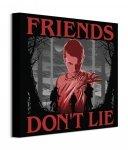 Stranger Things Friends Don't Lie - obraz na płótnie
