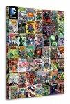 DC Comics (Covers Montage) - Obraz na płótnie