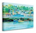 Harbour Colours - Obraz na płótnie