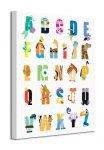 Disney (Alphabet) - Obraz na płótnie