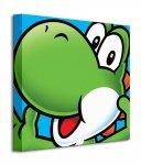 Super Mario (Yoshi) - Obraz na płótnie