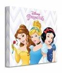 Disney Princess (Belle, Cinderella and Snow White) - Obraz na płótnie