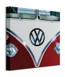 Volkswagen Red - obraz na płótnie