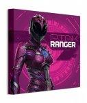 Power Rangers Movie Pink Ranger Cyber - obraz na płótnie