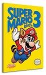 Super Mario Bros. 3 (NES Cover) - Obraz na płótnie