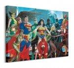 Justice League (Characters) - Obraz na płótnie