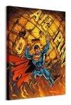 Superman Daily Planet - obraz na płótnie