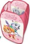 Kosz na zabawki Psi Patrol PAW pink