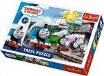 Puzzle Tomek i Przyjaciele Trefl 18230 30-el Thomas Wyścig na Torach