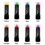 Lipstick Neon UV Szminka do Ust neonowa 5g