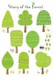 Osiem zielonych drzew