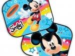 Zasłonki Przeciwsłoneczne Boczne Myszka Mickey Disney