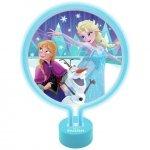 Lampka nocna Disney Frozen Kraina Lodu Neon Dekoracja