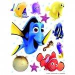 Naklejki Duża Naklejka Rybki Nemo