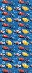 Tapeta Disney Cars Auta w rolce na flizelinie Niebieska
