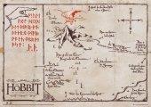 Antyczna Mapa na Pergaminie - The Hobbit - Edycja Kolekcjonerska - reprodukcja