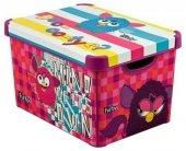 Pojemnik pudełko na zabawki Furby