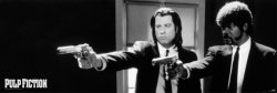 Pulp Fiction Guns - plakat