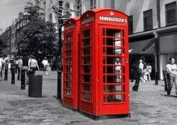 Czerwona Budka - Londyn - fototapeta