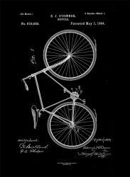 Rower Projekt 1894 - retro plakat