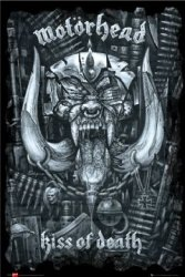 Motorhead - Kiss of Death - plakat
