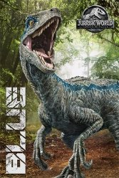 Jurassic World Upadłe królestwo Blue - plakat