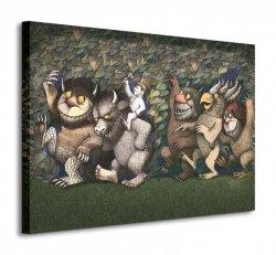Let the Wild Rumpus Start III - Obraz na płótnie