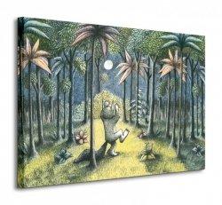 To the Land of the Wild Things - Obraz na płótnie