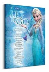 Frozen (Let it go) - Obraz na płótnie