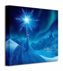 Frozen Kraina Lodu Elsa Ice Star - Obraz na płótnie