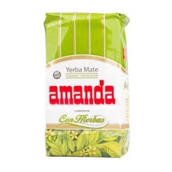 Amanda Compuesta Hierbas - yerba mate 500g