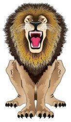 Latawiec BRAINSTORM - WNS SkyZoo 44x25'' Nylon Lion