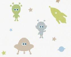 Tapeta Rakiety Ufo i Kosmici 94124-1 Esprit Kids 3