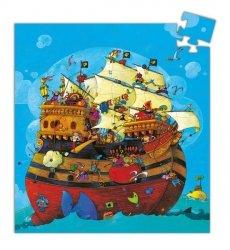 Puzzle Statek piracki Djeco DJ07241