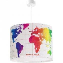 Lampa sufitowa MAPA ŚWIATA Dalber 42722