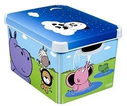 Pojemnik pudełko na zabawki Animals Safari Zwierzątka
