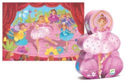 Puzzle Baletnica Djeco DJ07227