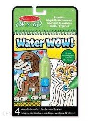 Kolorowanka Wodna Water Wow Pies Kot Malowanka Melissa 19484