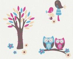 Tapeta Sowy i Drzewko 94115-2 Esprit Kids 3