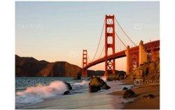 Fototapeta Most Golden Gate zachód słońca San Francisco